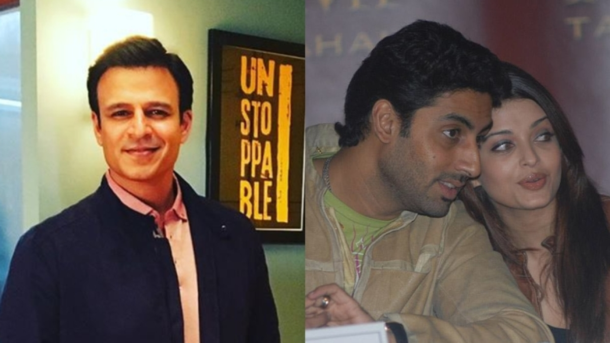 Abhishek Bachchan and Vivek Oberoi hug it out, post Aishwarya Rai Bachchan's meme controversy