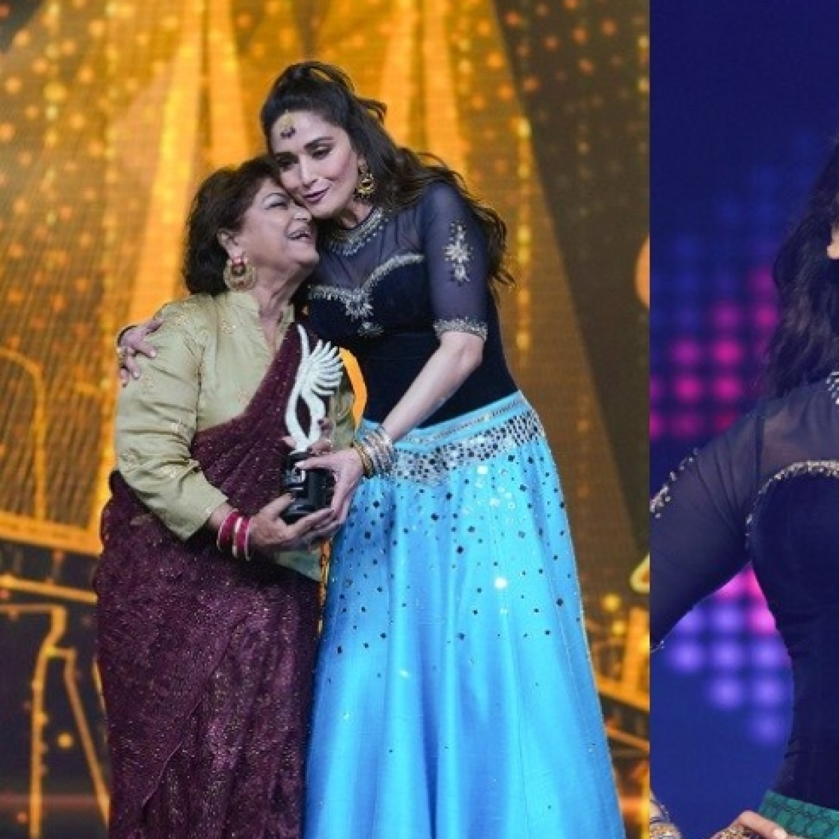 Madhuri Dixit pays tribute to veteran choreographer Saroj Khan at IIFA 2019