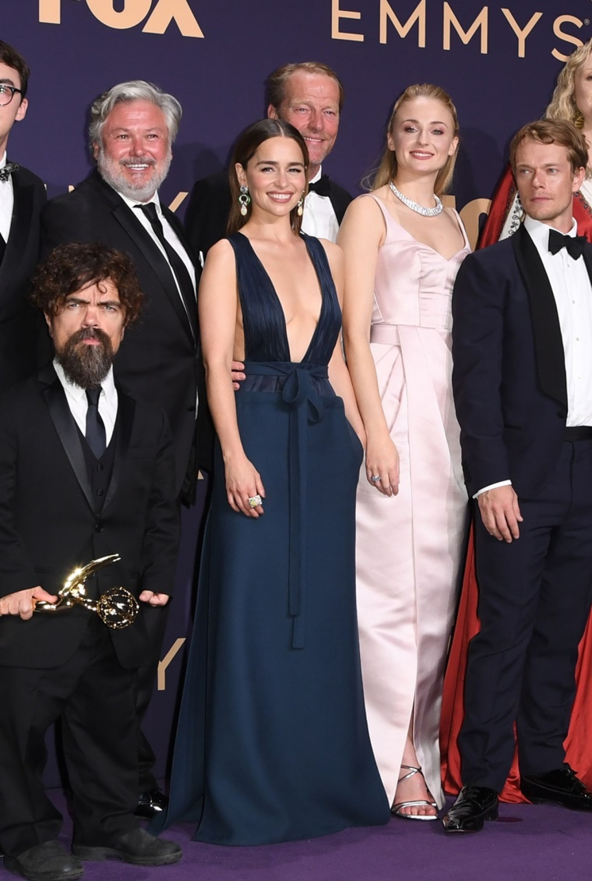 Emilia Clarke and Sophie Turner