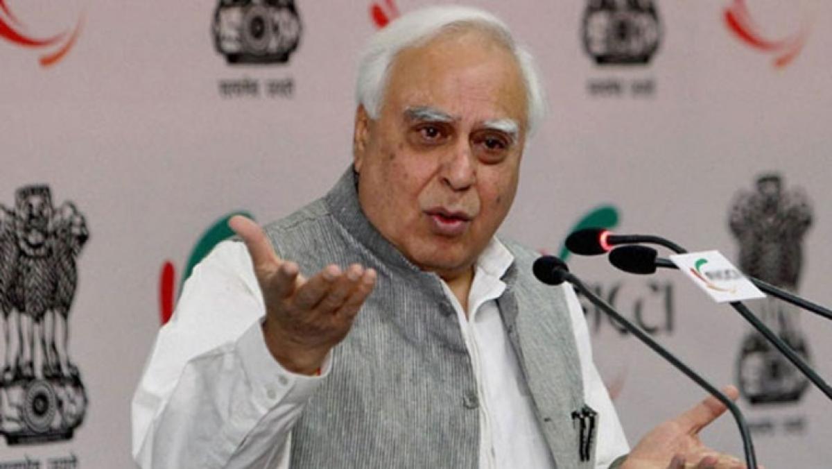 'Was BJP-PDP alliance to bring back terror in J-K?' asks Sibal after Shah's 'Gupkar gang' remark