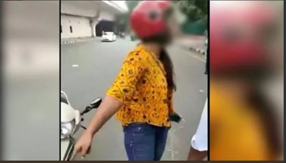 Delhi woman threatens to commit suicide