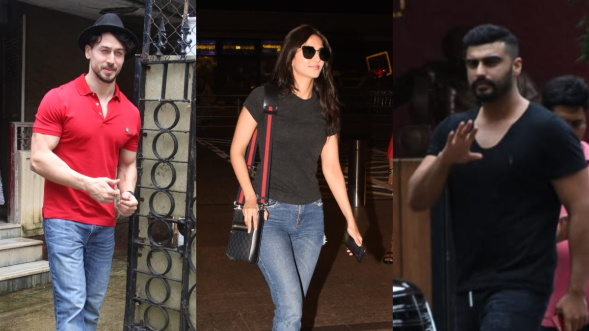 Celebrity Spotting: Arjun Kapoor, Tiger Shroff, Vaani Kapoor, and others spotted