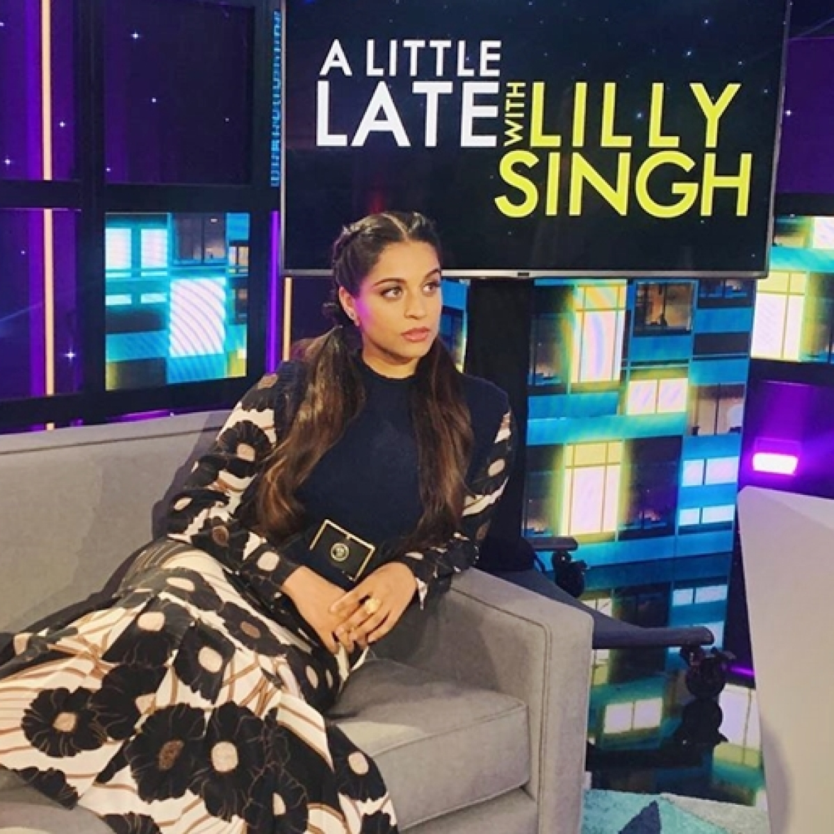 How to watch 'A Little Late with Lilly Singh' show in India?