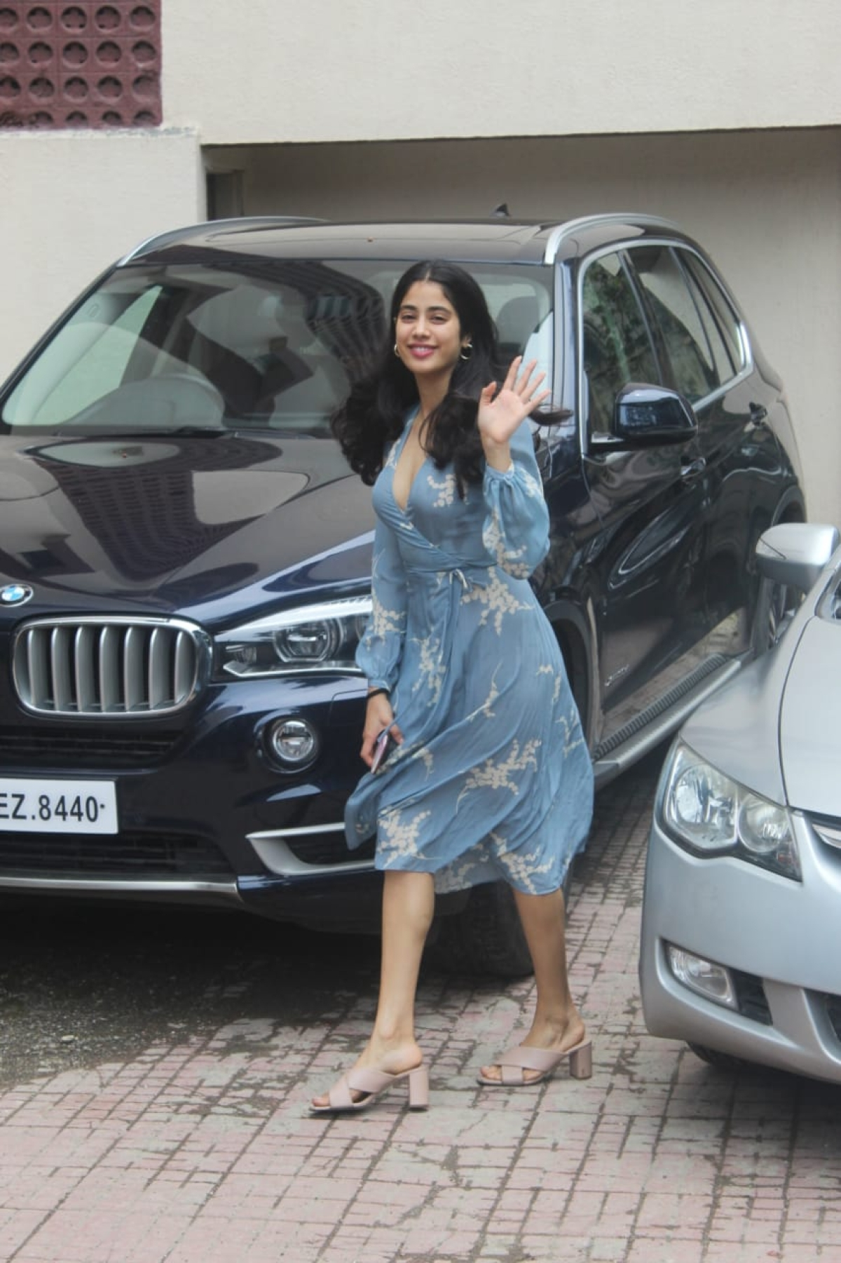 Janhvi Kapoor at Pilates