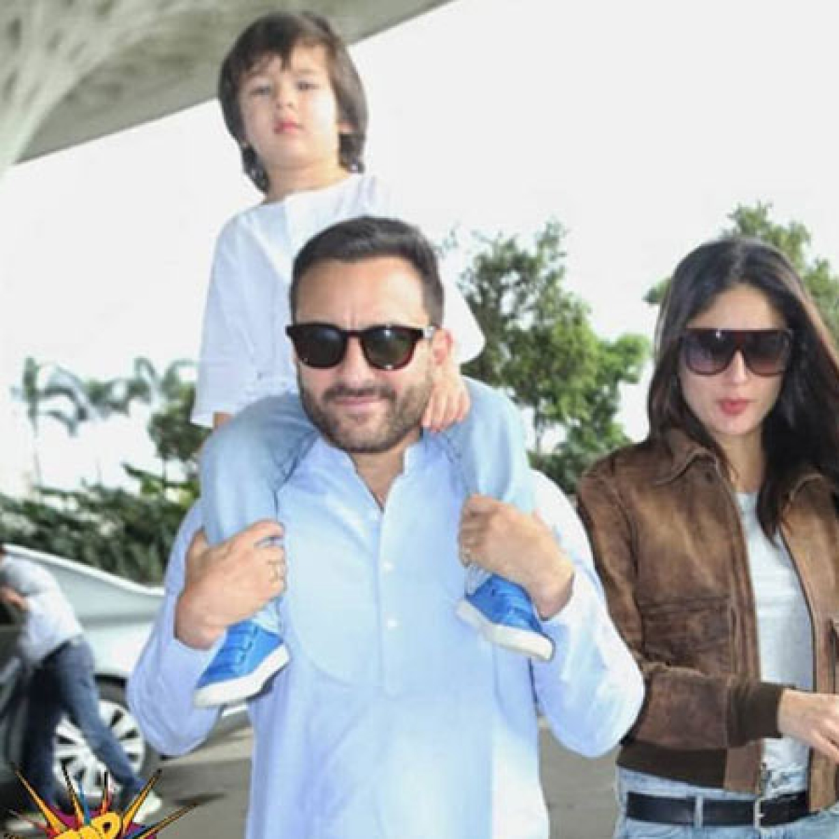 Saif Ali Khan, Kareena Kapoor Khan  lose their way to Pataudi Palace, get mobbed for selfies
