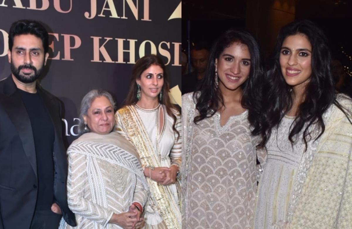 In Pics: Ambanis and Bachchans attend the Abu Jani - Sandeep Khosla Fashion show
