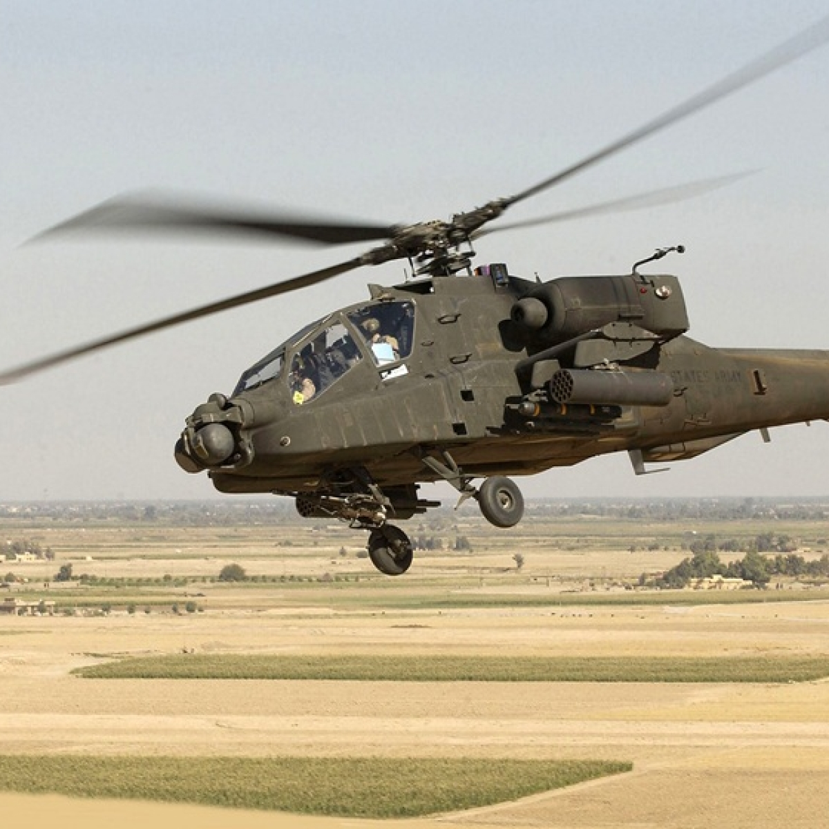 Apache attack helicopters to be inducted into IAF at Pathankot today