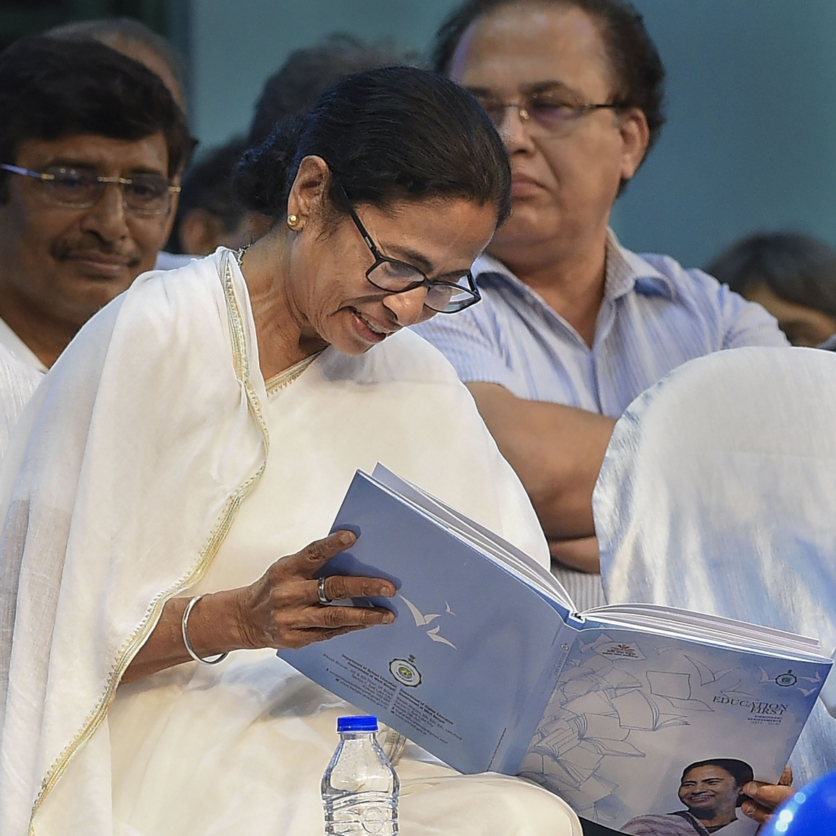 Efforts being made to change history, Constitution: Mamata to teachers