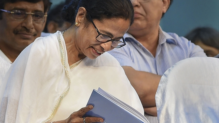 West Bengal Chief Minister Mamata Banerjee during Teachers' Day programme, in Kolkata