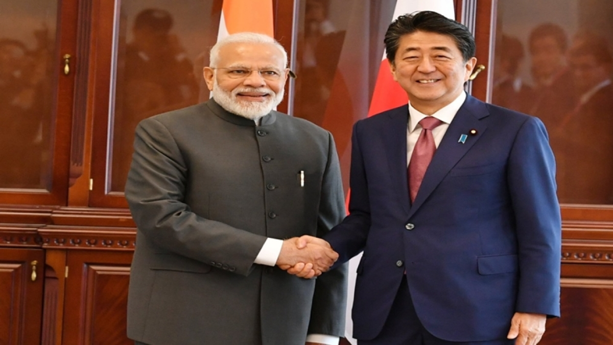 PM Narendra Modi and Japanese  PM  Shinzo Abe