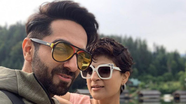 Ayushmann Khurrana strikes a pose with his 'dream girl', and we're not surprised