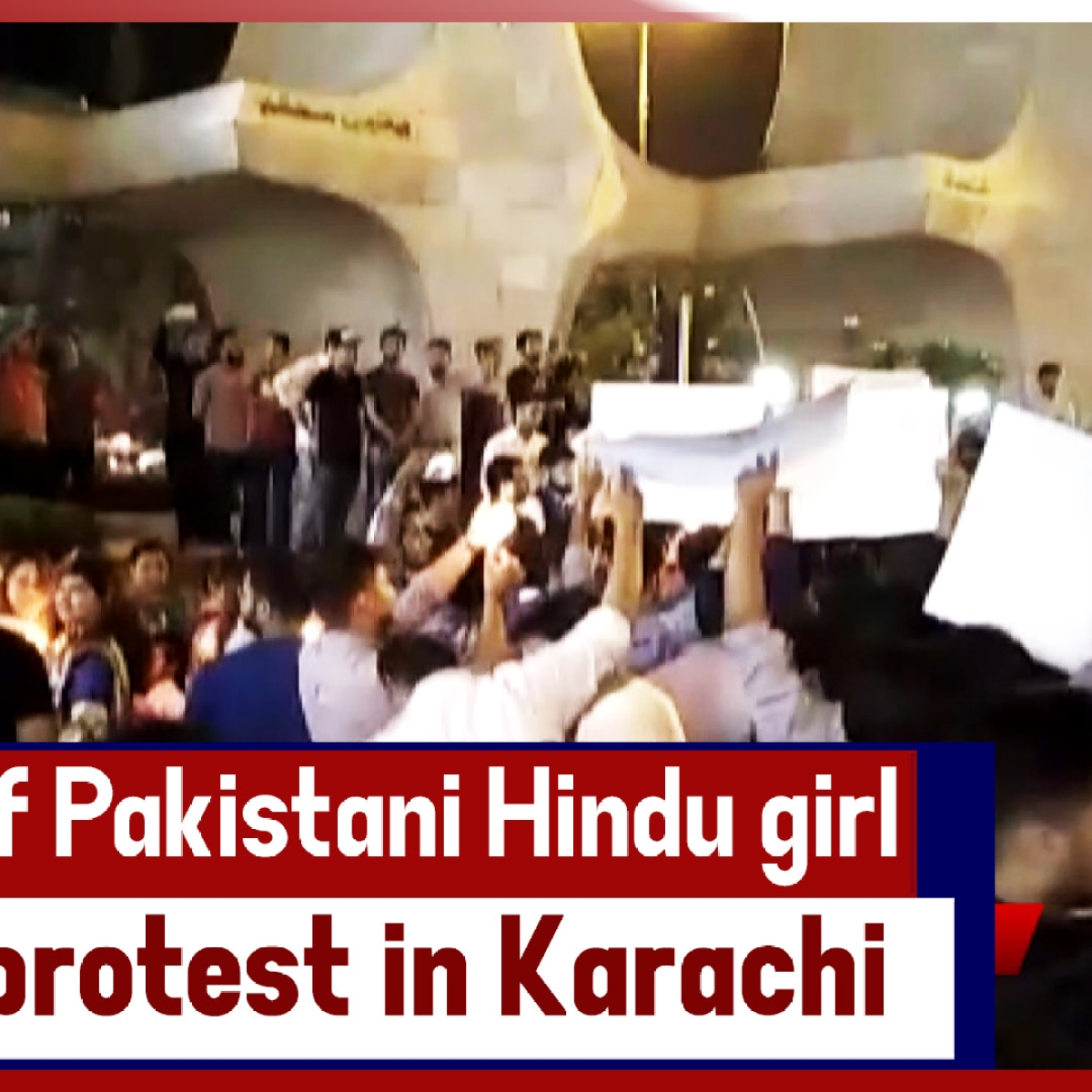 Murder Of Pakistani Hindu Girl Sparks Protest In Karachi