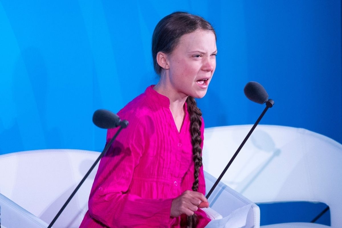 Greta Thunberg's death stare to US President Trump leads to a meme match online