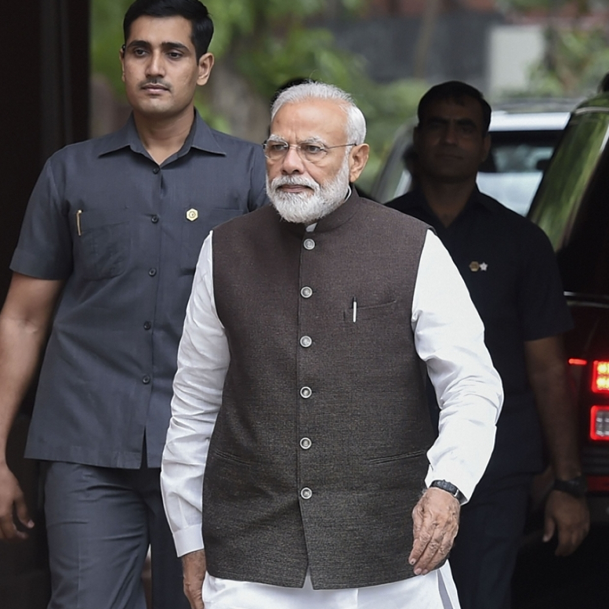Will PM Modi drop in at Sangh event during his US visit?