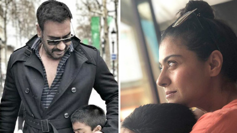 Ajay Devgn and Kajol take to social media to wish son Yug as he turns 9