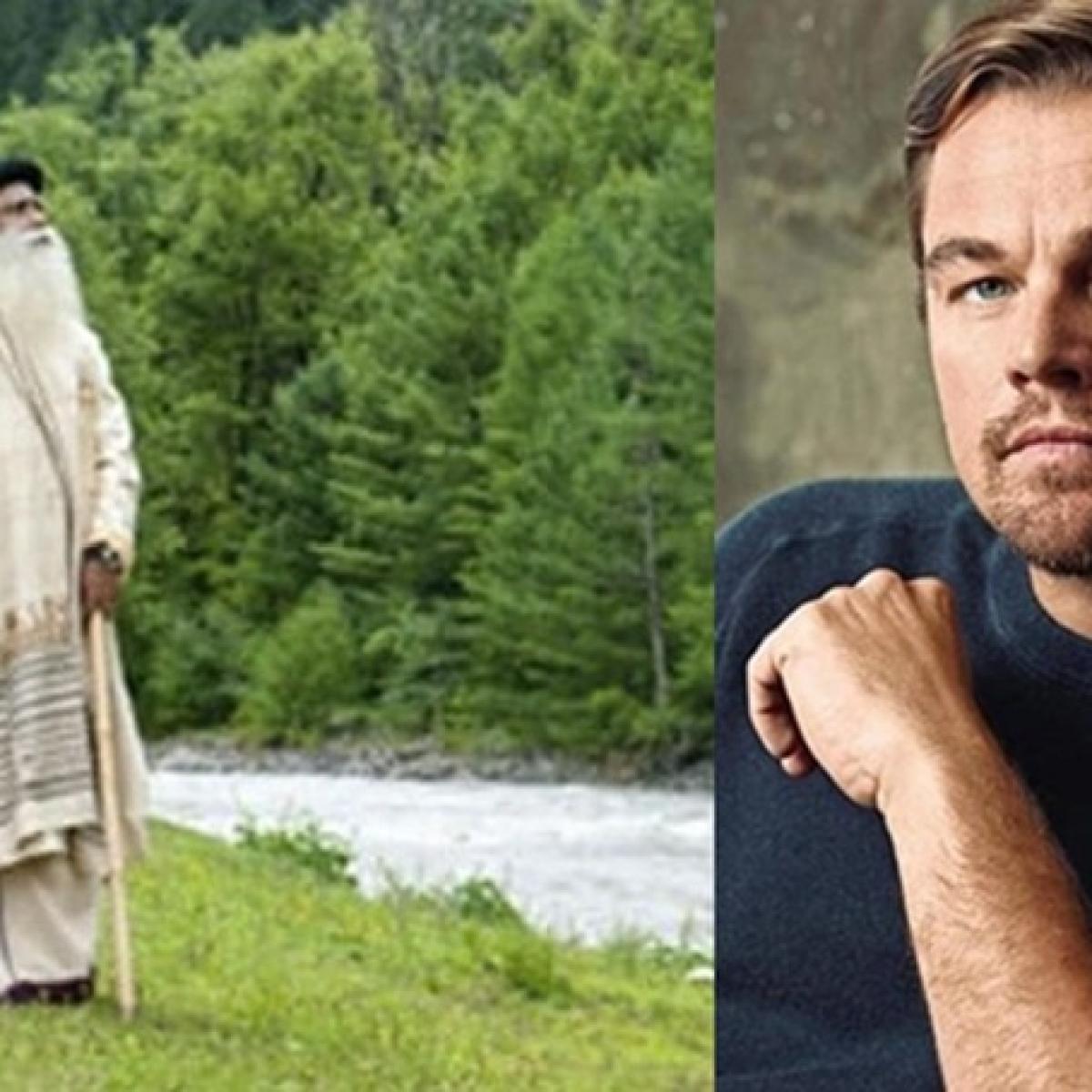 Leonardo DiCaprio supports 'Cauvery Calling' initiated by Sadhguru