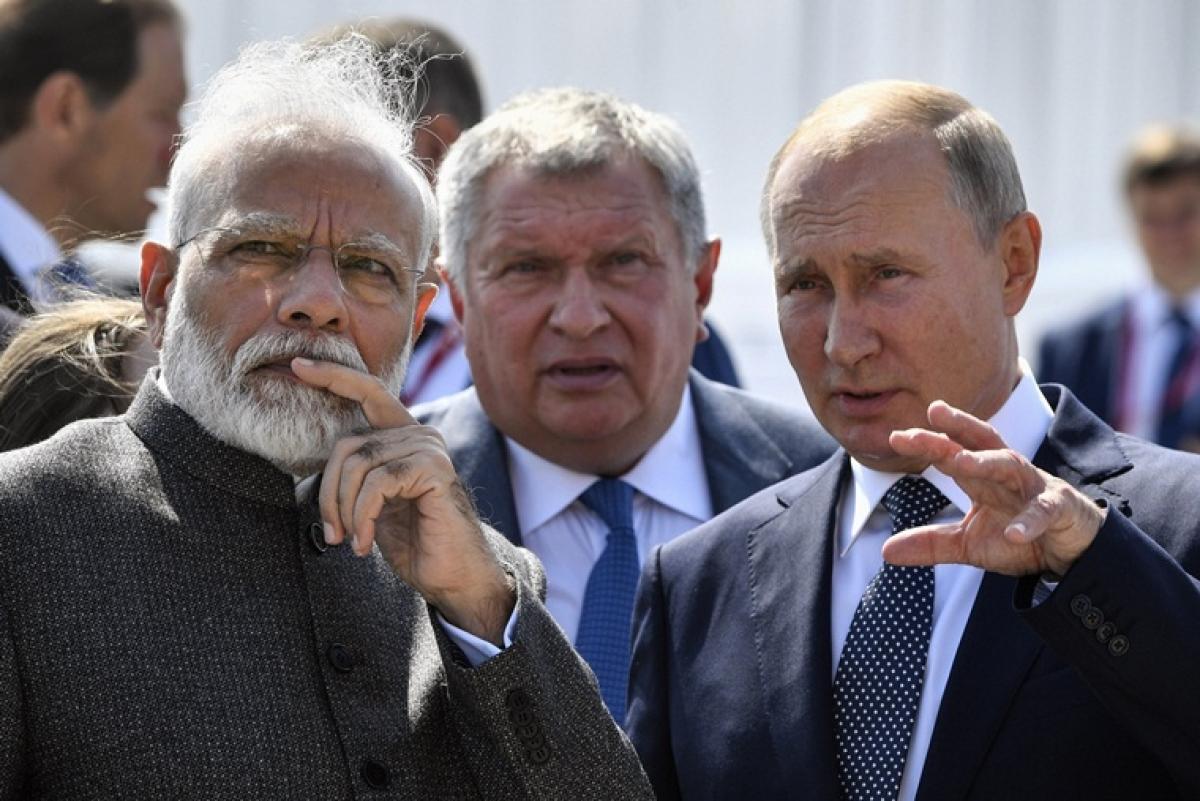 Putin-Modi bonhomie at play in talks