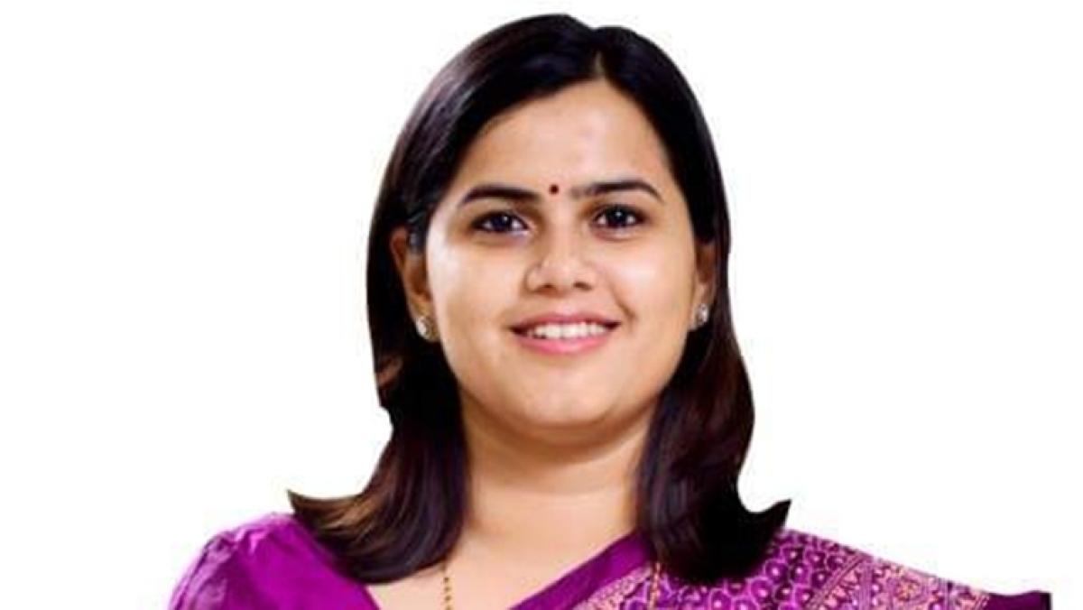 NCP's Maharashtra Assembly election candidate Namita Mundada joins BJP