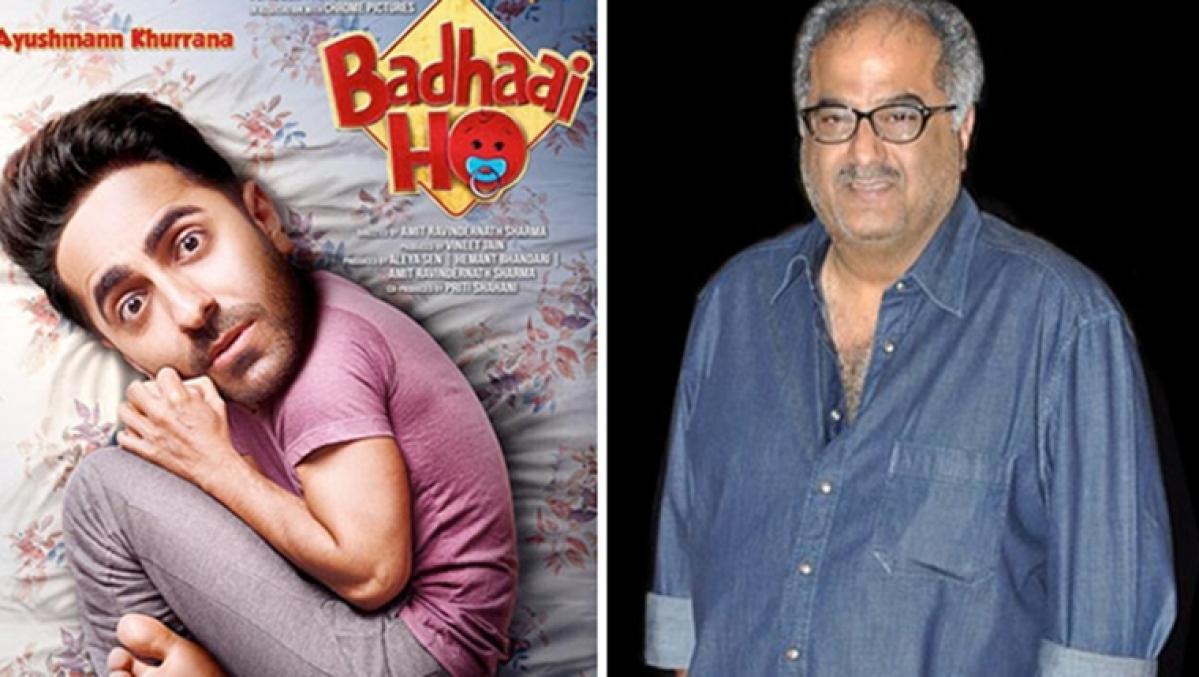 Boney Kapoor to remake Ayushmann Khurrana's 'Badhaai Ho' in Tamil