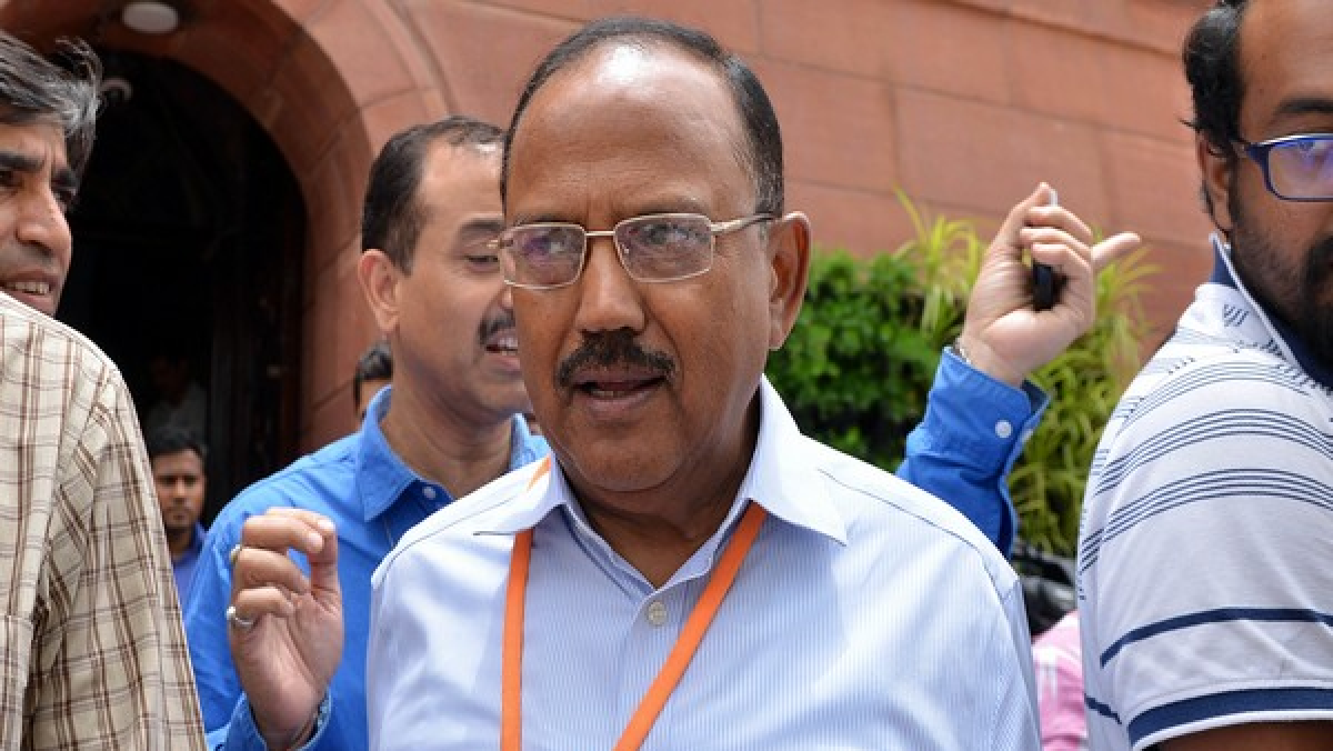 Ajit Doval visits J&K for second time to review security situation