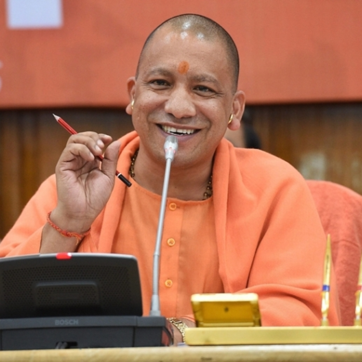 The government does not discriminate on the basis of religions, claims Yogi Adityanath