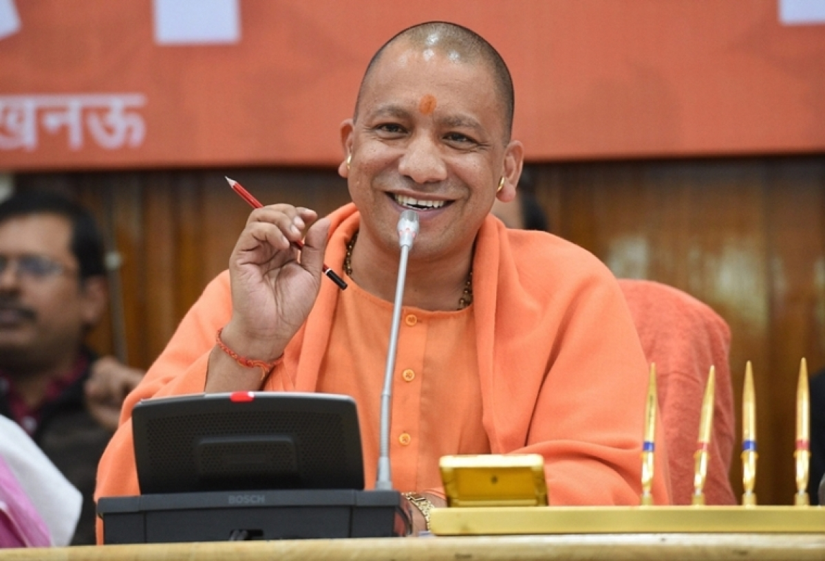 Yogi Adityanath government puts up stray cows for adoption