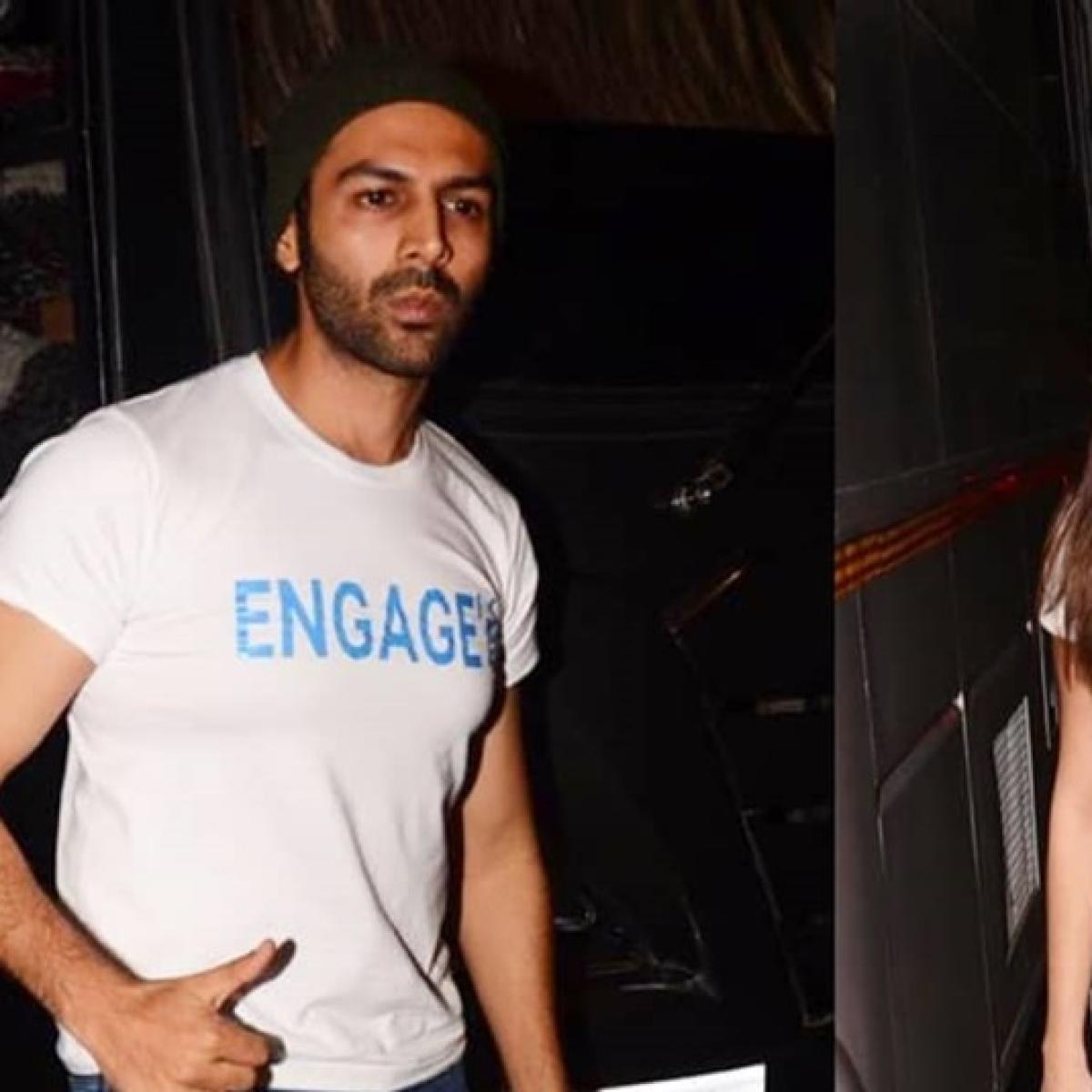 Kartik Aaryan engaged to Tara Sutaria? Netizens call for Sara Ali Khan