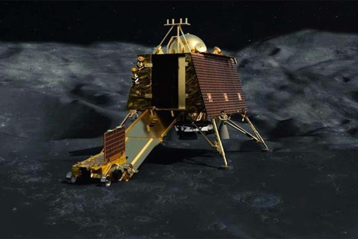 Moon lander Vikram still intact and not broken into pieces: ISRO official