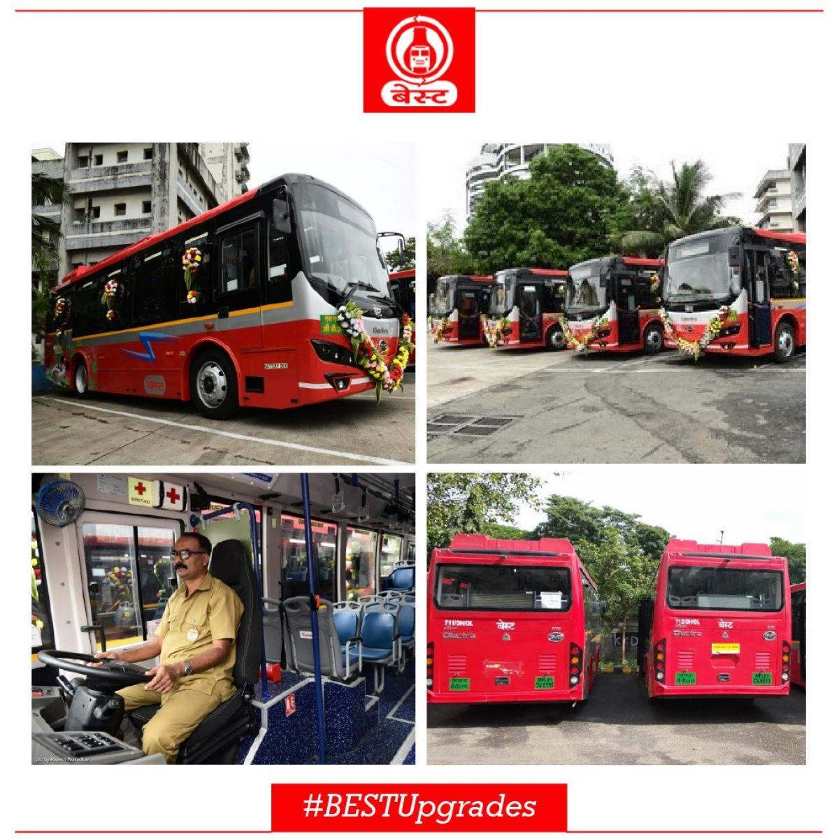 Mumbai's BEST gets 10 more Electric Buses for commuters