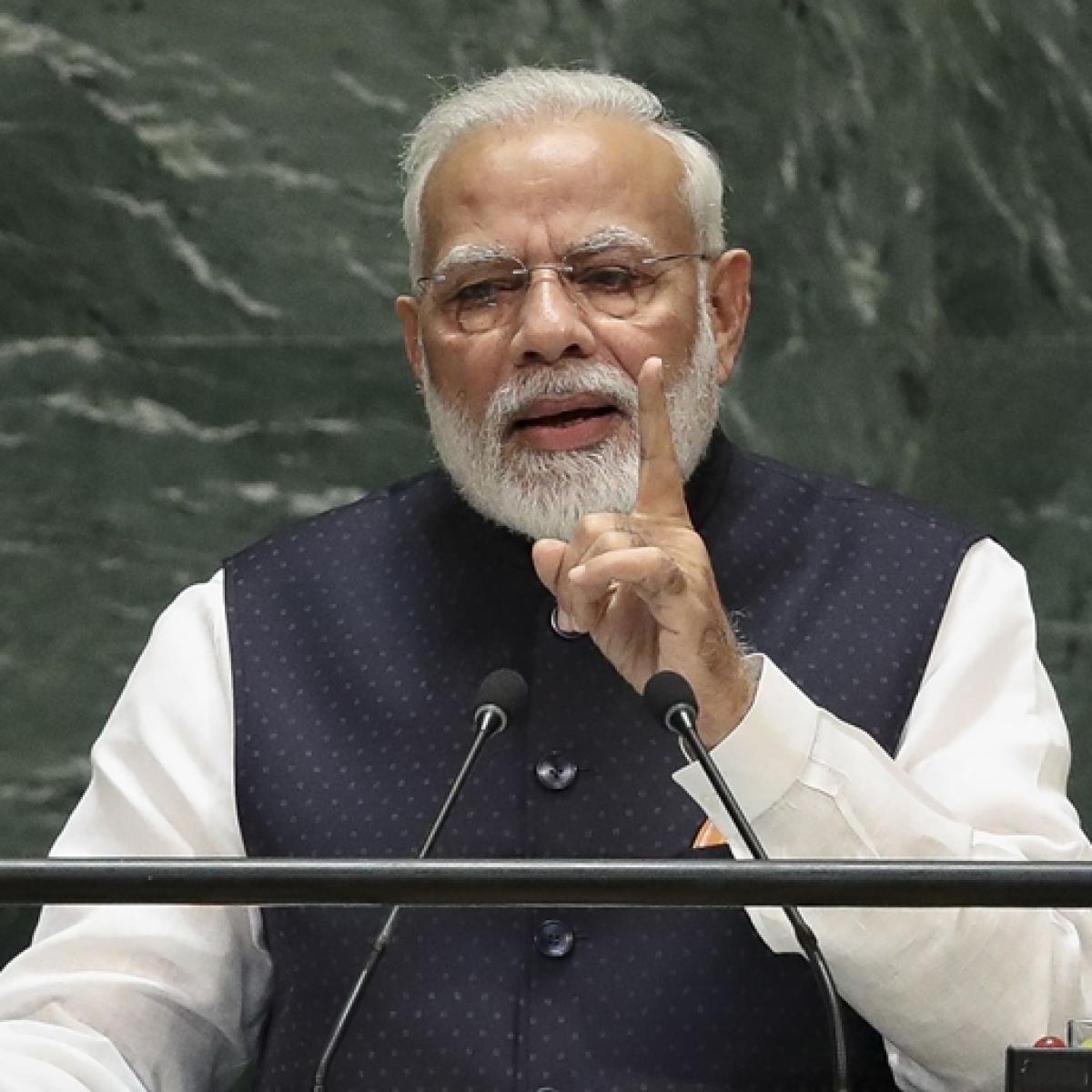 PM Narendra Modi snubs Pakistan in UNGA address, focuses on India's contribution in development and peace