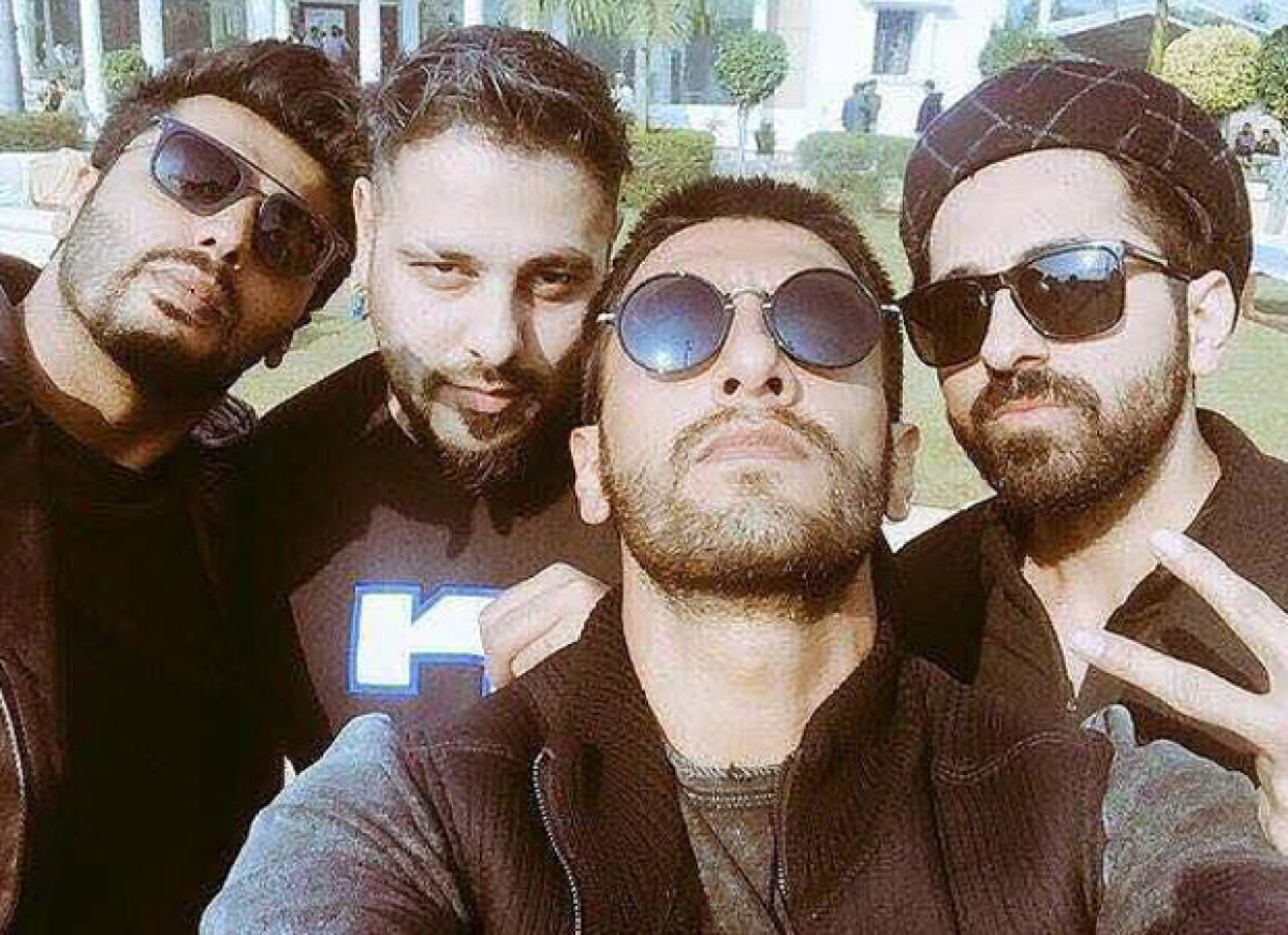 Badshah's throwback picture with Ranveer, Arjun, Ayushmann is squad goals