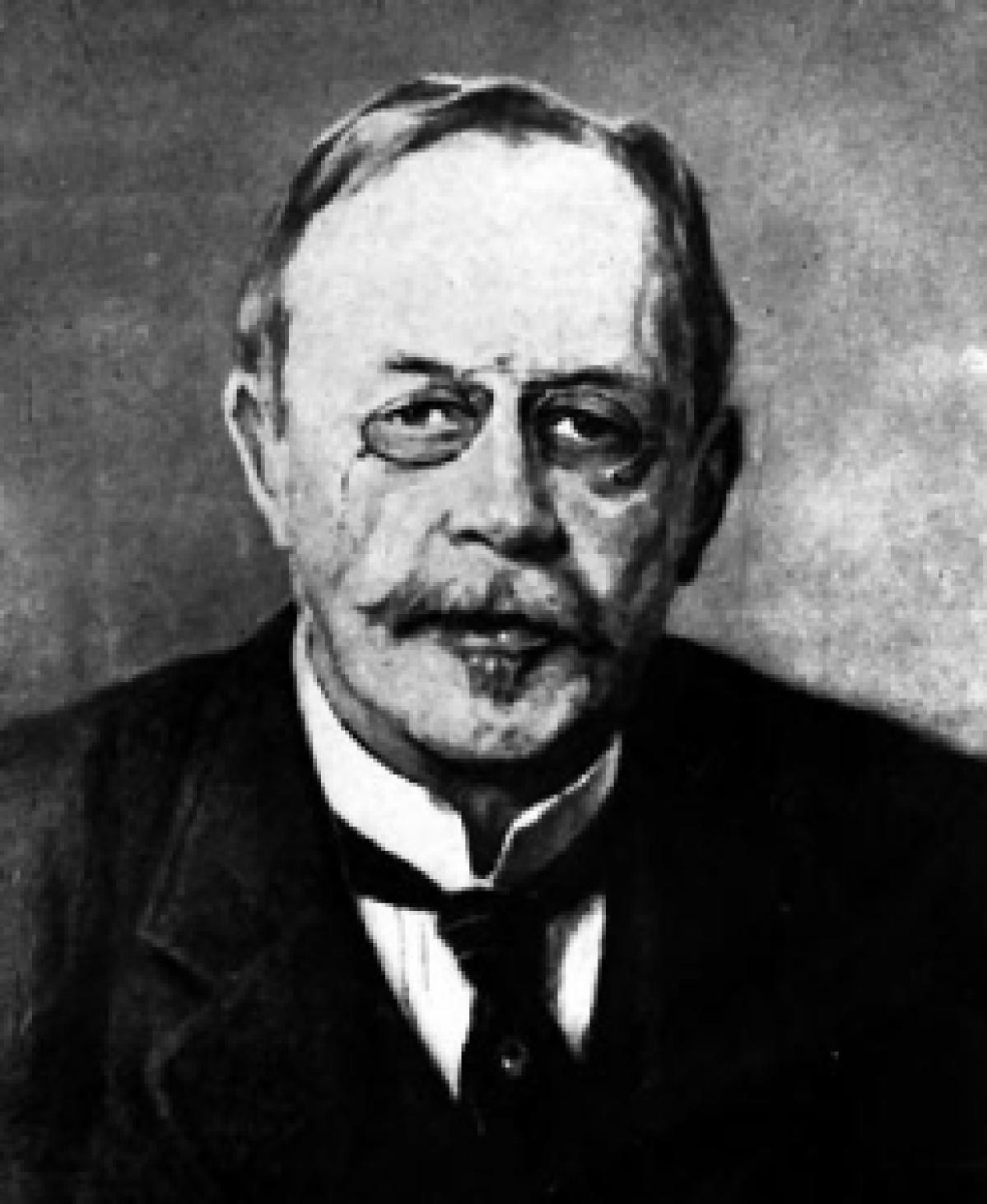 Danish bacteriologist Hans Christian Gram