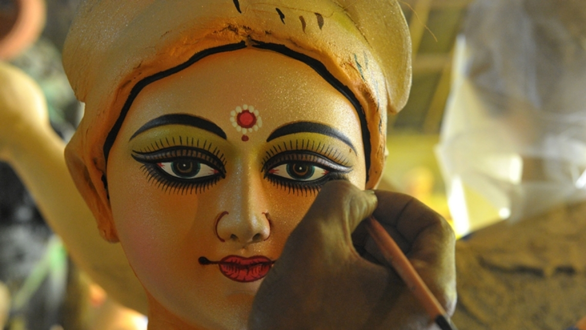 Women in Bhopal are getting tattoos of Goddess Durga to signify women empowerment