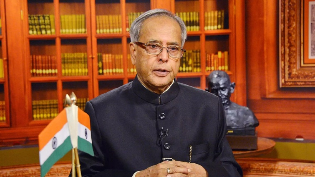 Gross Happiness is also important along with GDP: Pranab Mukherjee