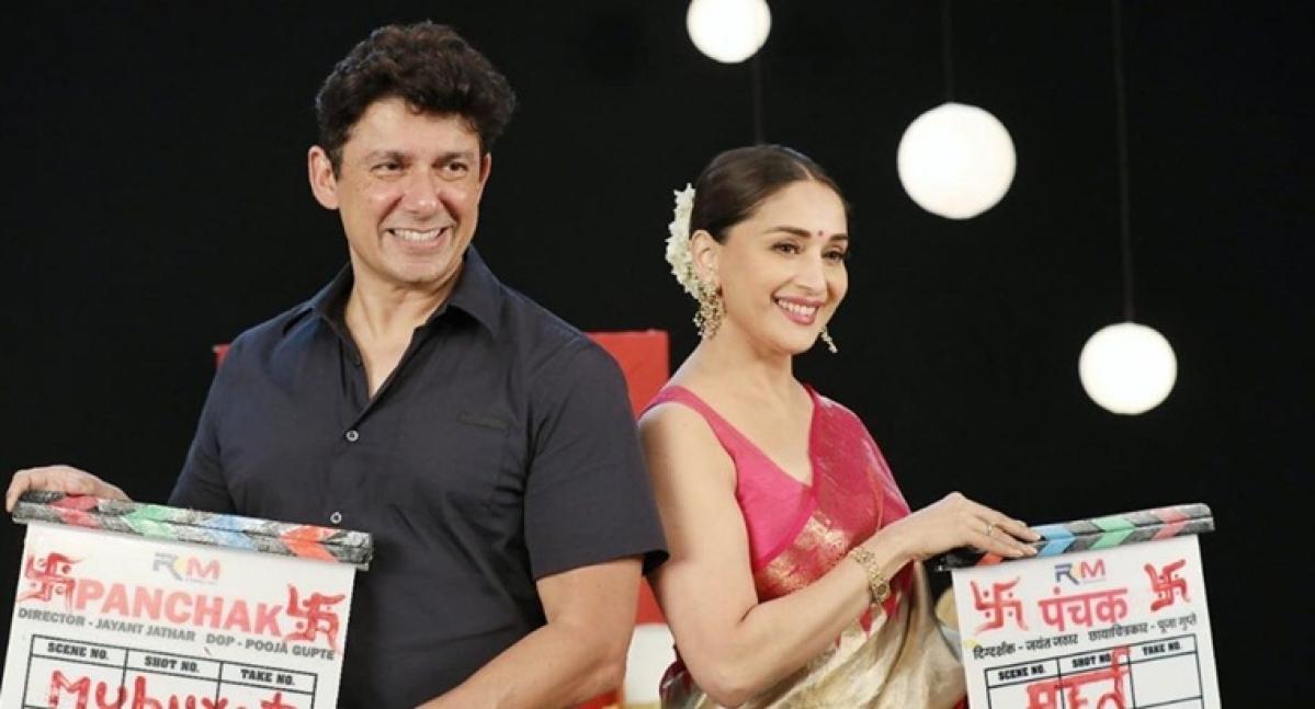 Madhuri Dixit turns producer for Marathi film 'Panchak'