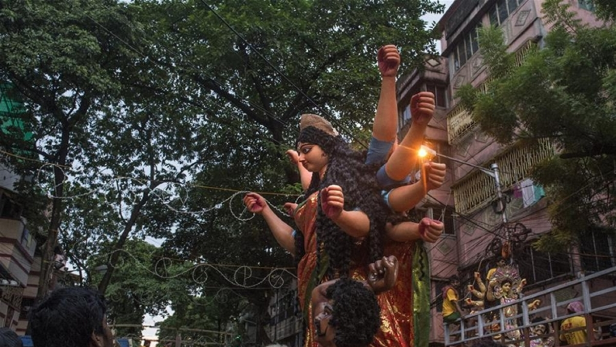 Idol of Goddess Durga/ Representative Pic