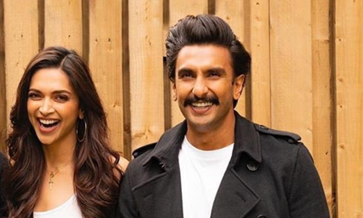 Deepika Padukone trolls Ranveer Singh for using her bronzer on his chest