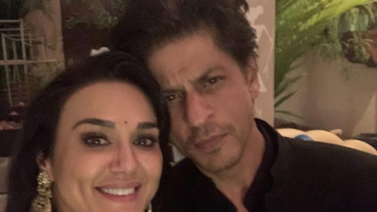 Shah Rukh Khan, Preity Zinta's Diwali reunion giving us major 'Veer Zara' feels