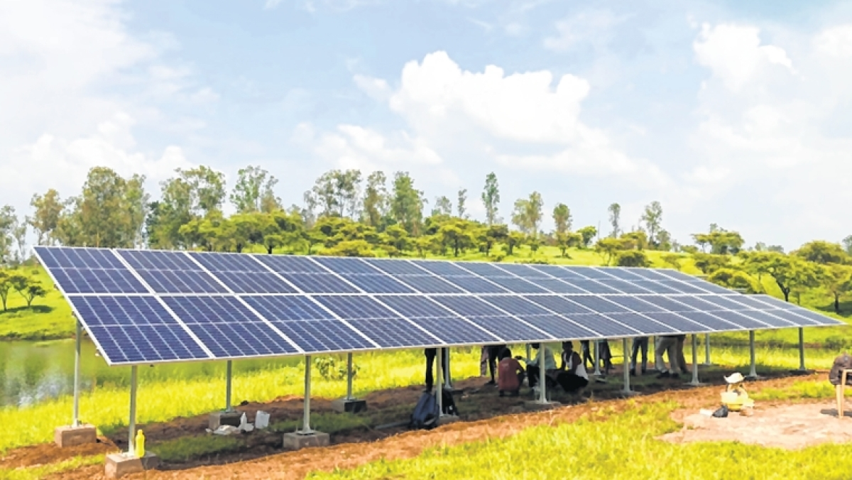 Solar-based Integrated Rural Development Project at Gumbadpada Village