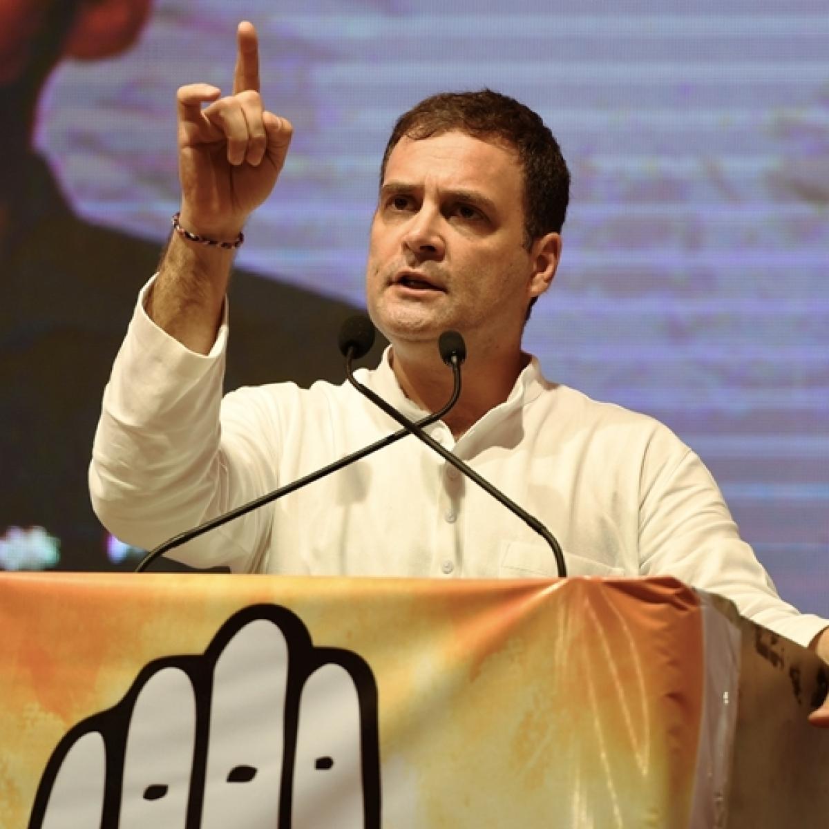 'Guilt in BJP leaders mind for making mistakes': Rahul Gandhi invokes Rafale at Mumbai rally