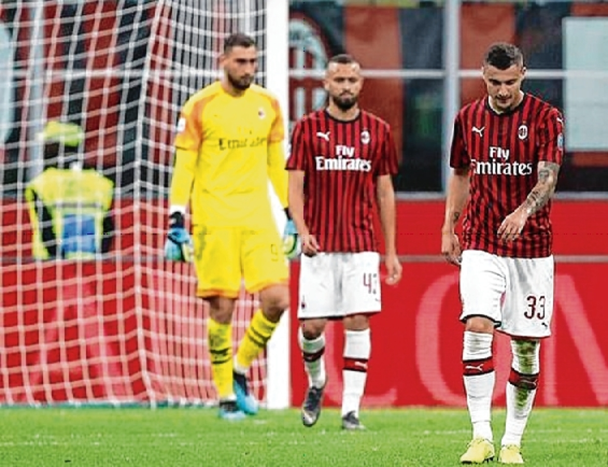 AC Milan struggle off the field as well