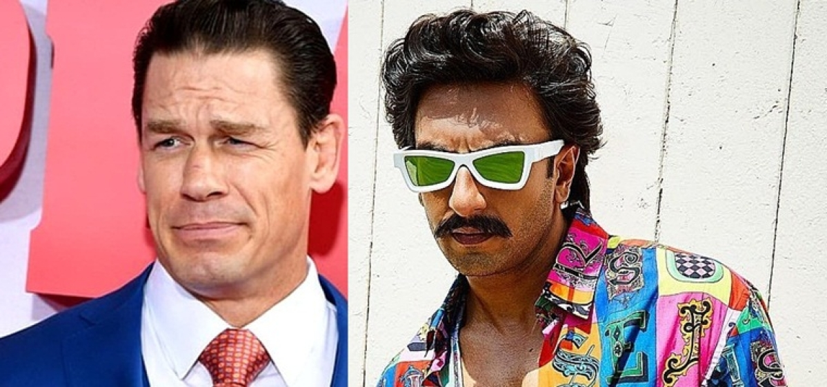 Is Ranveer Singh a fashion icon for John Cena?
