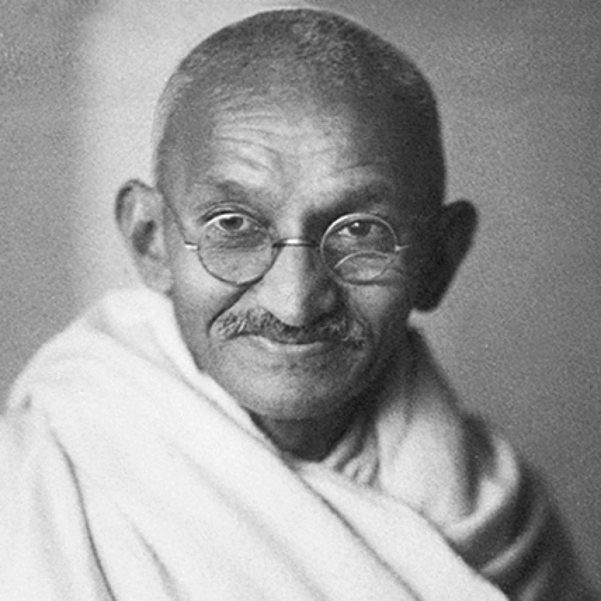 Gandhi being insulted in this prickly world