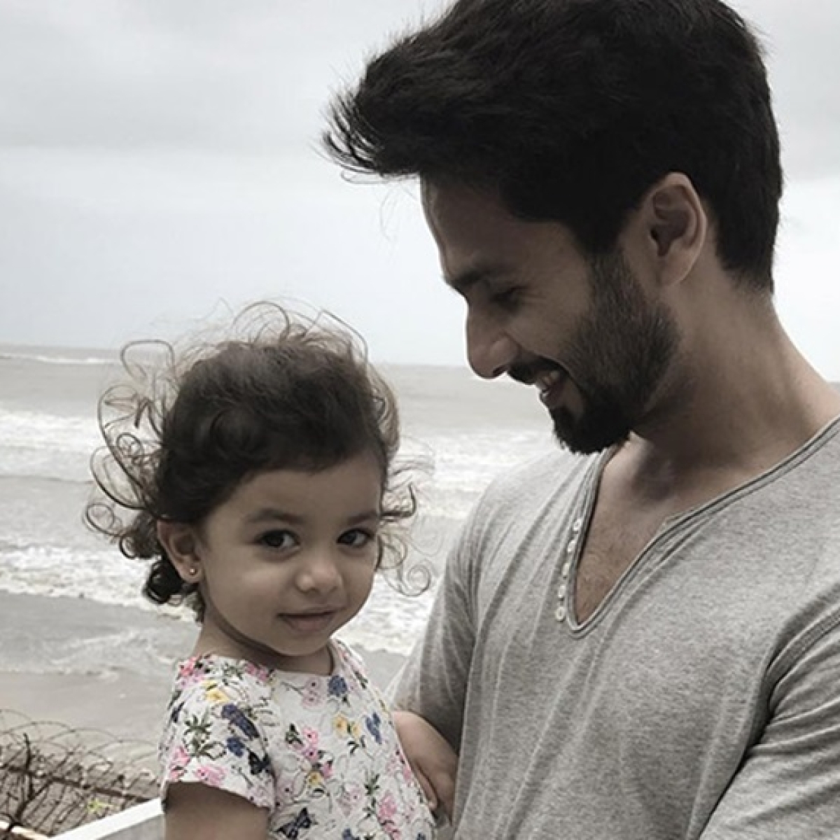 Shahid Kapoor recalls when Misha couldn't recognise him without a beard
