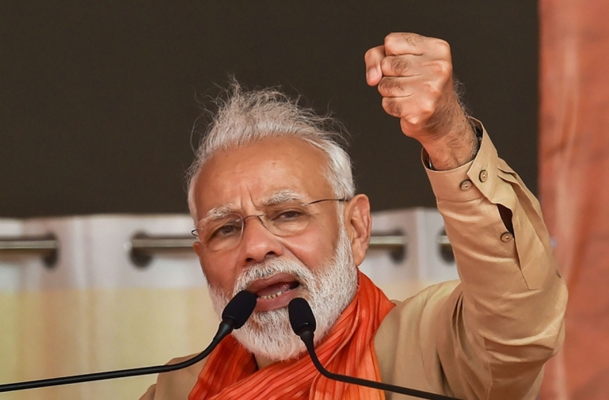 PM Modi lambasts NCP after ED summons Praful Patel for underworld connections