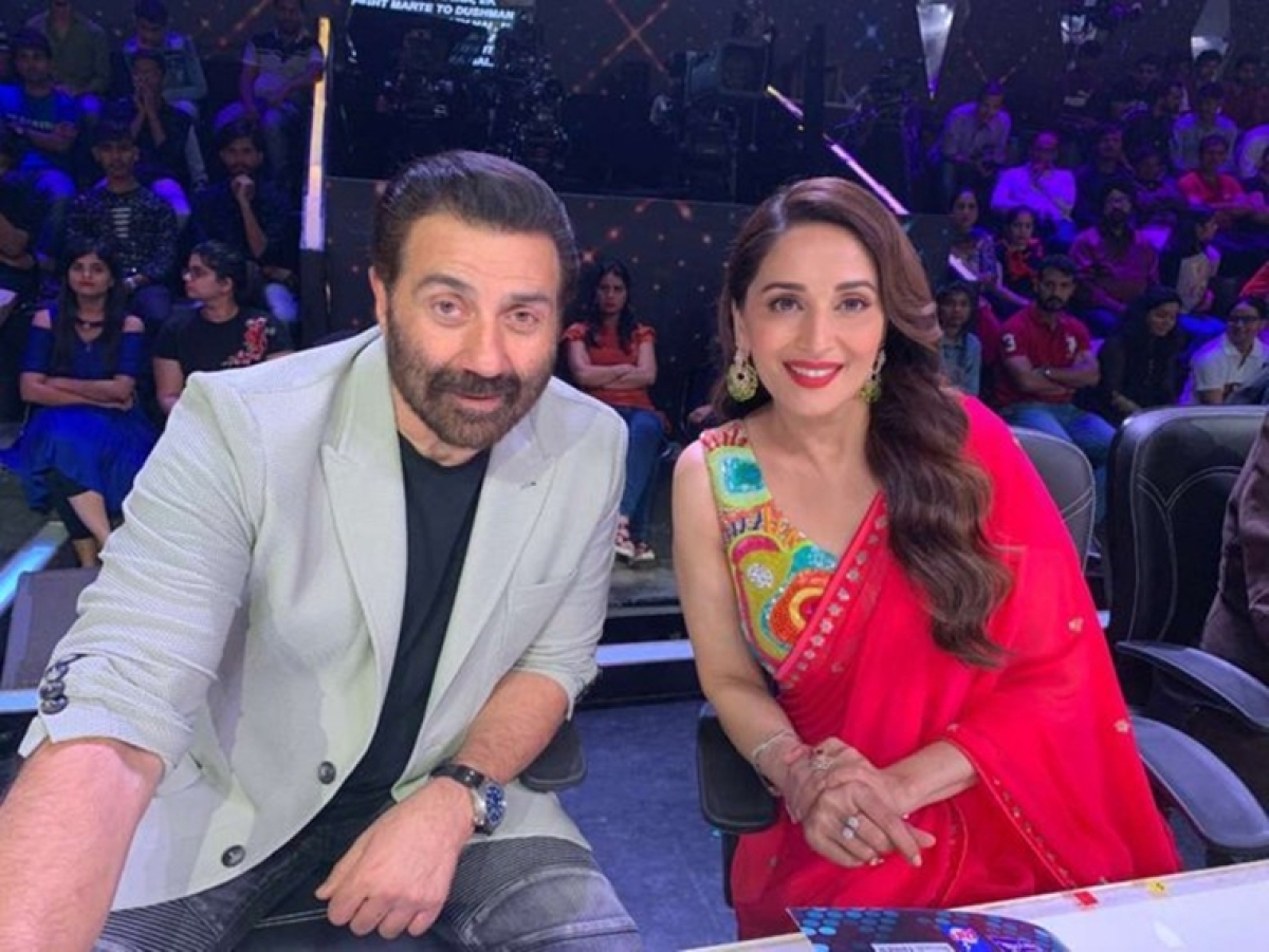 Madhuri Dixit wishes Sunny Deol on his 62nd birthday