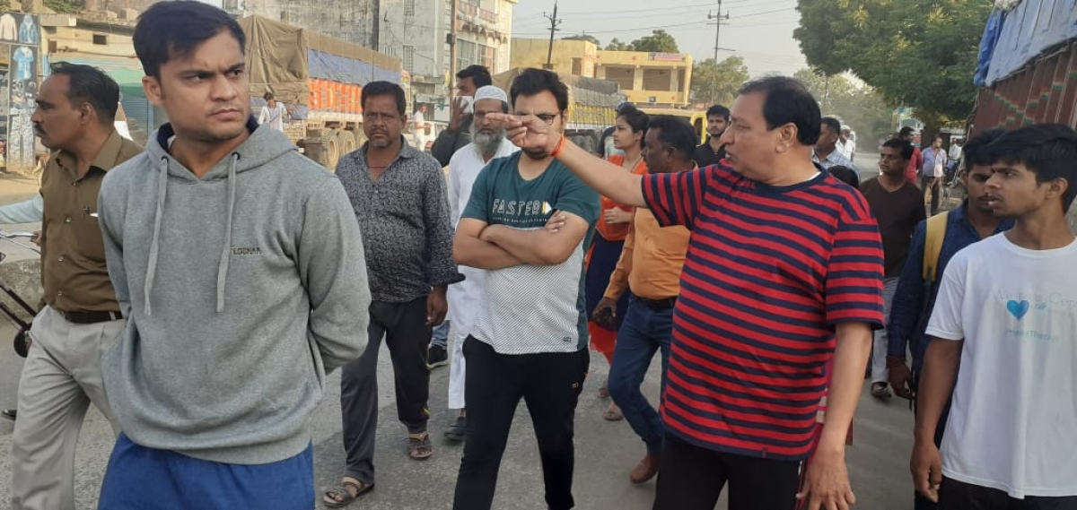 Mahidpur: Swachhata Abhiyan held