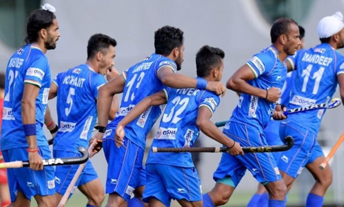 Indian hockey team returns after successful tour of Belgium