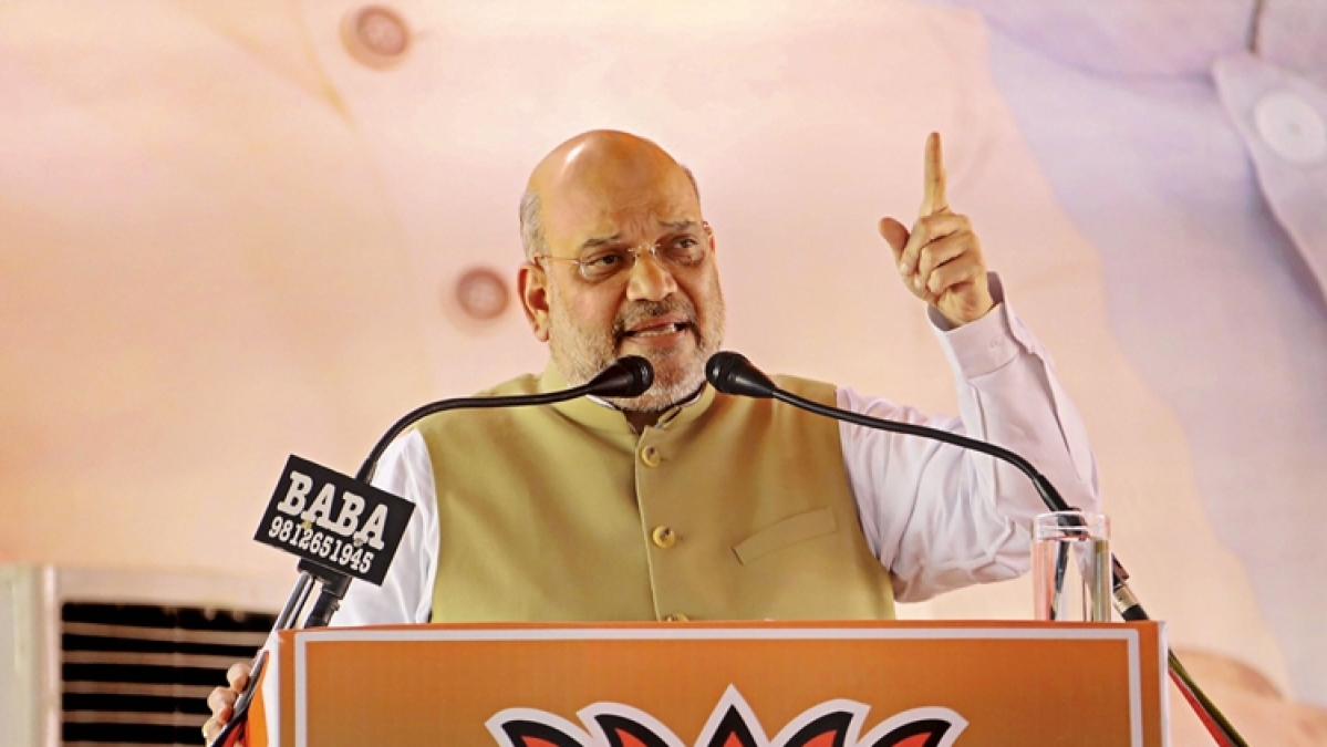 'Is Shashtra Pujan not performed on Vijayadashami?': Amit Shah on Congress' criticism of Rajnath Singh