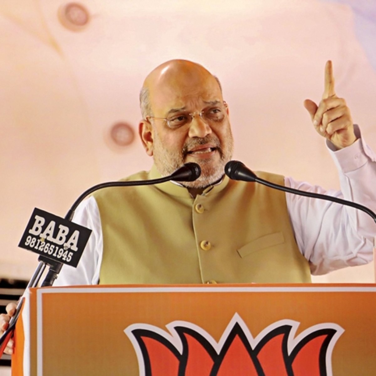 Amit Shah's scathing attack on '3-D' Congress in Haryana